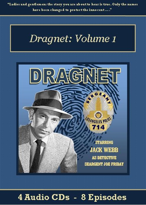 Dragnet Old Time Radio Show CD Set - St. Clare Audio