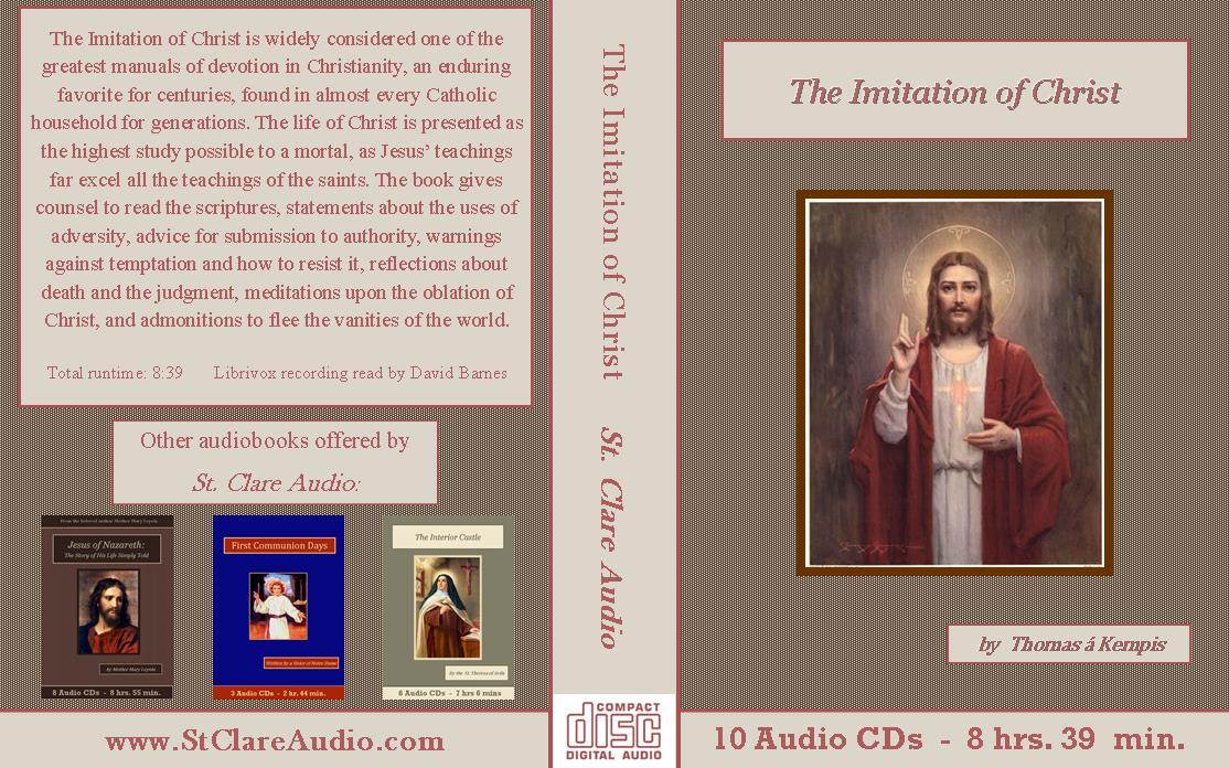 Imitation of Christ - St. Clare Audio