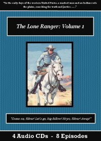 The Lone Ranger Old Time Radio Show CD Set - St. Clare Audio
