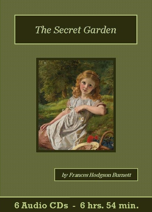 The Secret Garden Audiobook CD Set   St. Clare Audio