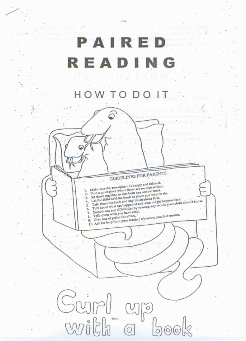 Paired Reading Guidelines