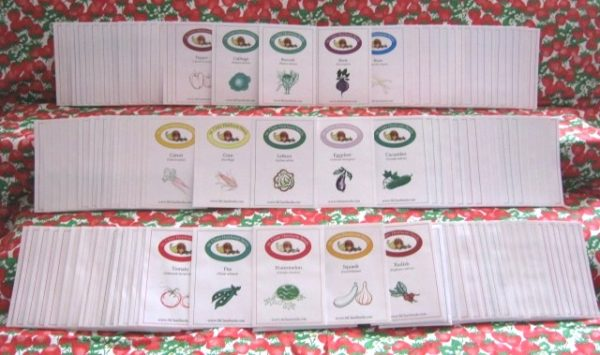 St. Clare's Stocking Up Vegetable Garden Seed Collection - St. Clare Heirloom Seeds