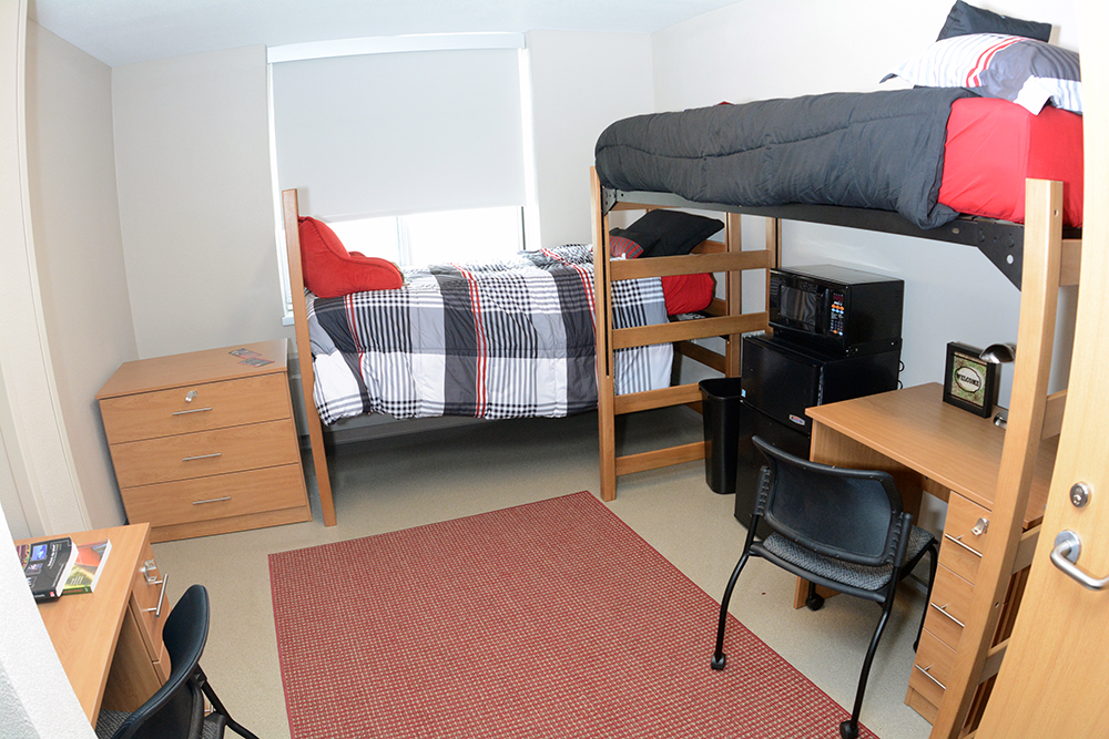 Shoemaker Hall in the Department of Residential Life  St