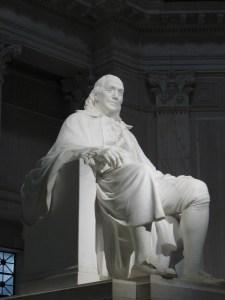 Franklin Statue