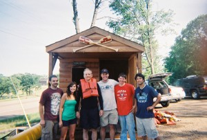 Bill Murray at Eric's Canoe Rental
