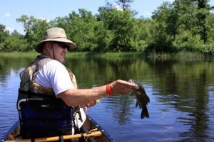 Randy Berg and his fish
