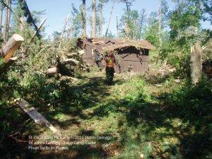 Cabin at St. John's Landing at St. Croix State Park