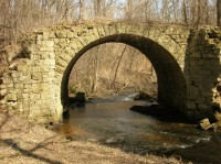The old stone bridge over Brown's Creek