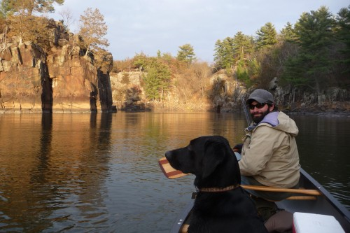 My paddling partners