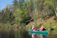 Canoeing on the Namekagon River