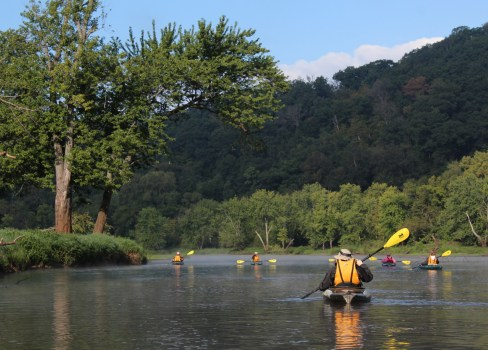 Kayaking St. Croix River backwaters