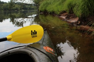 Kayak and paddle on the St. Croix River