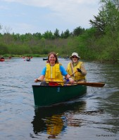 Happy paddlers on the 2012 trip