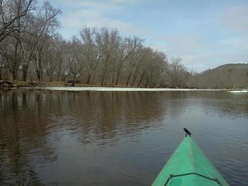 Kayaking in Dead Man's Slough