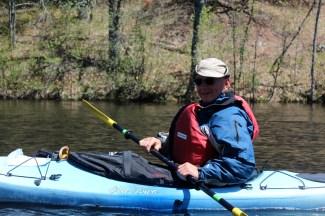 Paddling, paddling, paddling