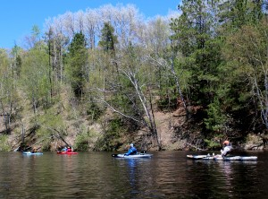 Kayaking the Namekagon River