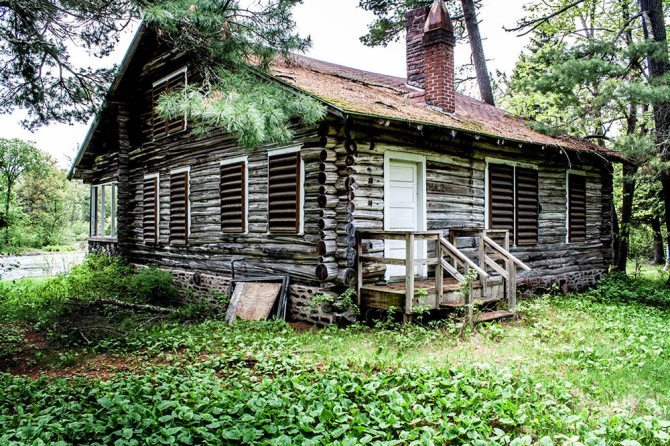Gibson Cabin, photo by John Schletty