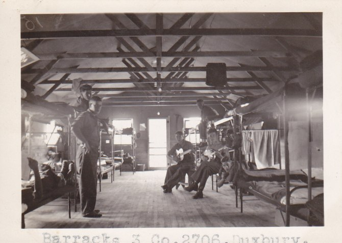 CCC workers in a barracks at what would become St. Croix State Park