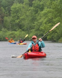 St. Croix River Association executive director Deb Ryun