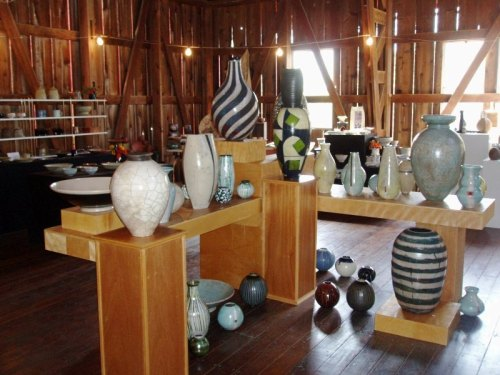 Rustic Road 13 Pottery Show