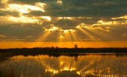 Sunset at Crex (First Place - Adult, Landscape - Philip Schwarz)