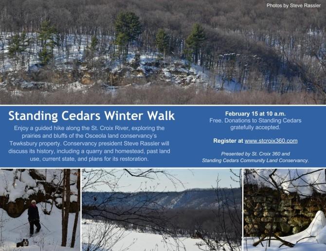 Standing Cedars flier