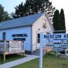 The Gordon Historical Society building was originally a fur post storehouse.