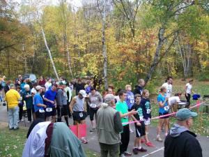 2013 Wild River Run start line