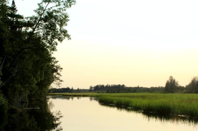 St. Croix River in Gordon, Wisconsin