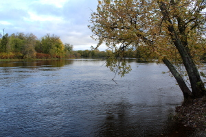 The upper St. Croix River in the area.