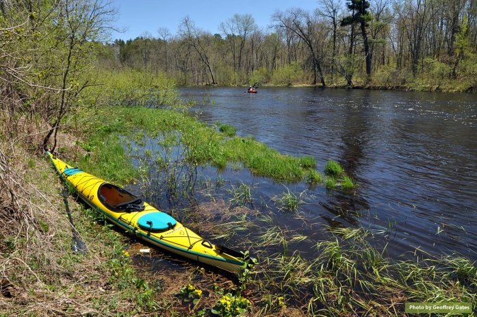 Namekagon River in May, 2013 (Photo by Geoffrey Gates)