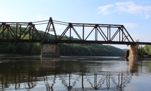 Cedar Bend swing bridge