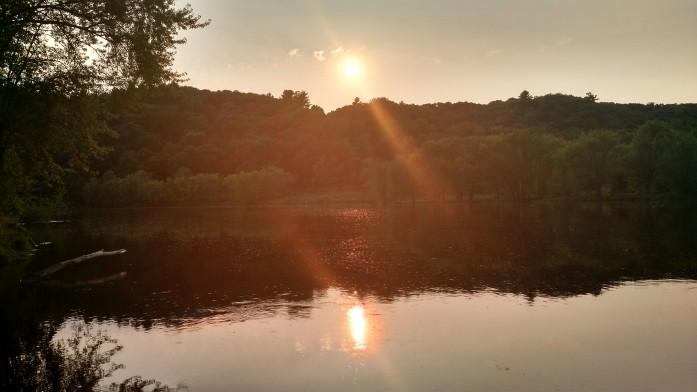 St. Croix River sunset