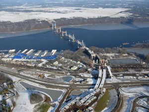 December 2015, photo via St. Croix Crossing project.