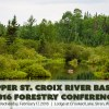 Public Invited to Upper St. Croix River Basin Forestry Conference