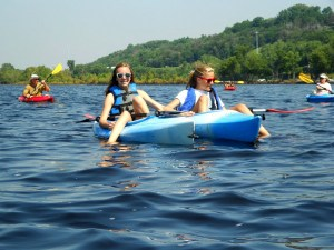 Smiling on the St. Croix. (Photo courtesy RiverFest)
