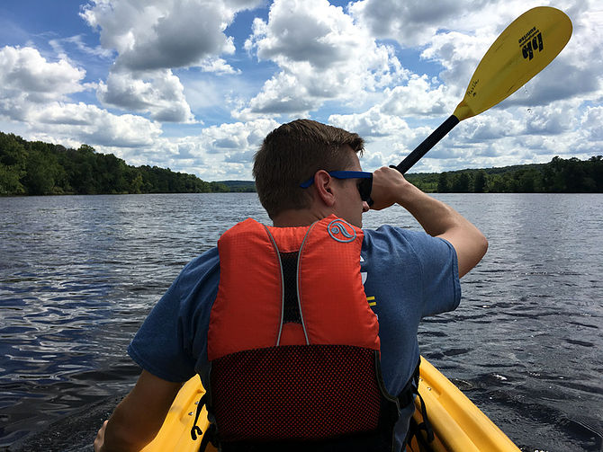 Kayaking on the St. Croix (Photo by Mikah Meyer)