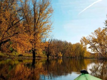 October Awe: Autumn wonder on display in St. Croix River kayaking video