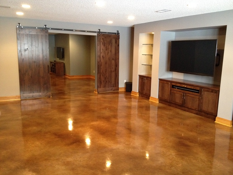 Stained Concrete Floors Minneapolis  St Paul MN  St