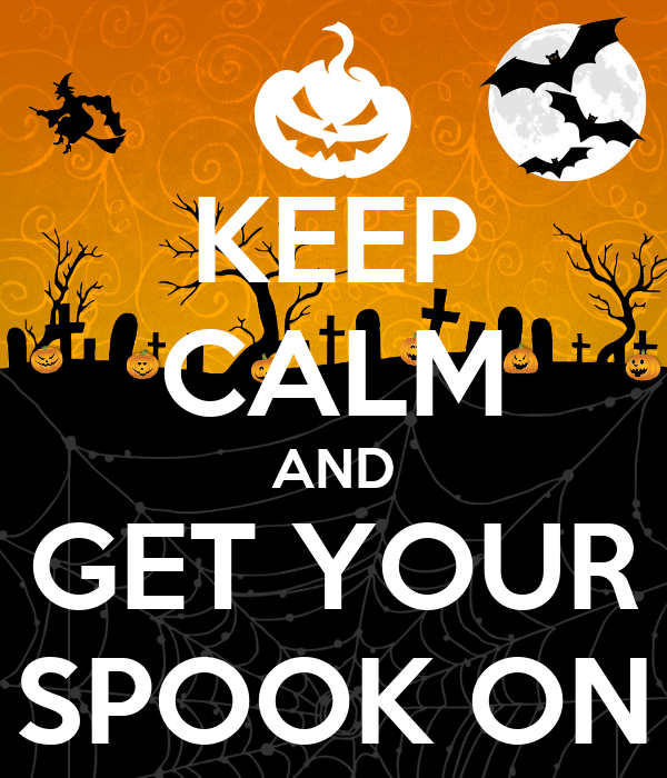 Get your 'SPOOK ON.'