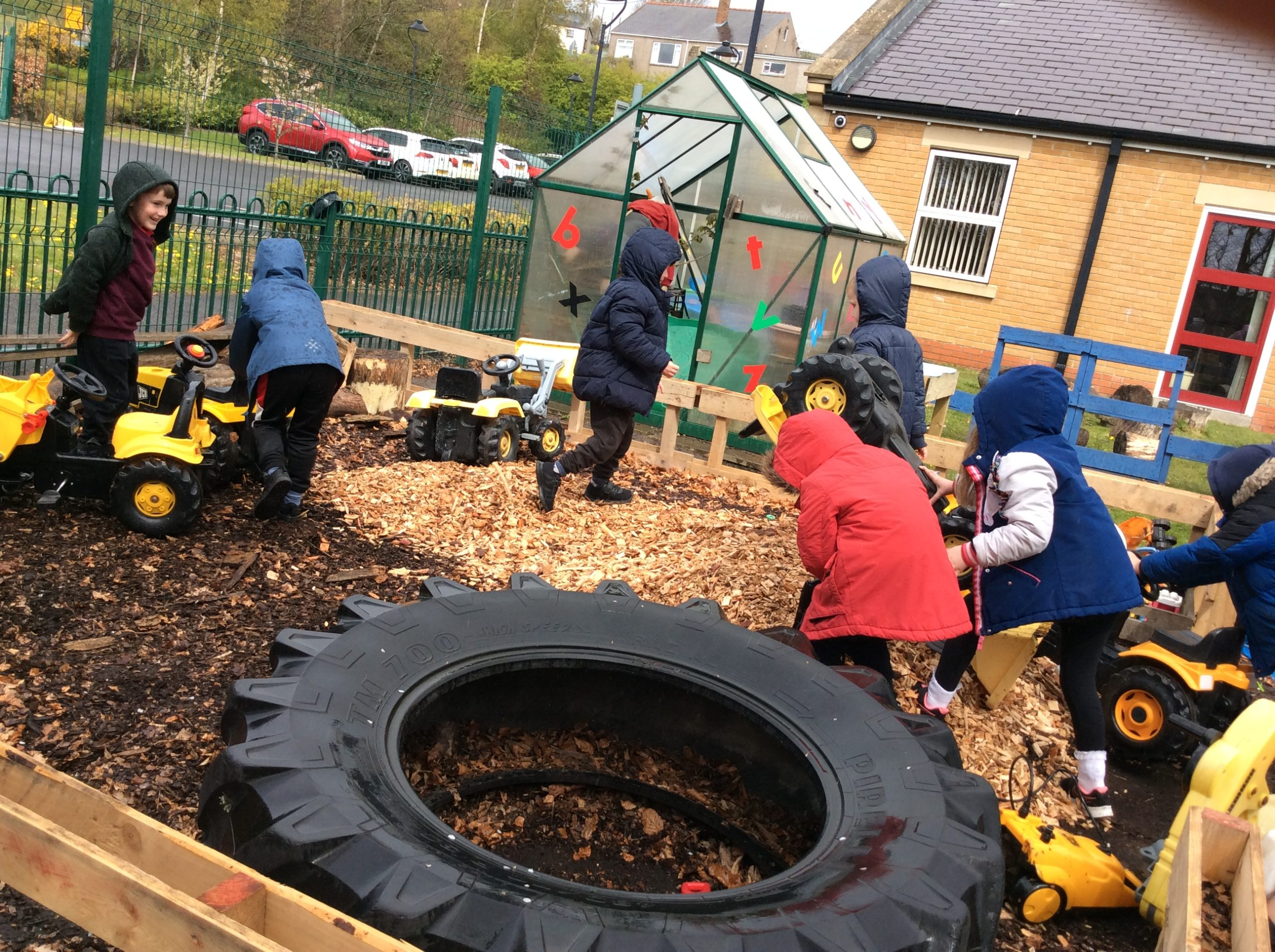 Our Early Years children doing what they do best!