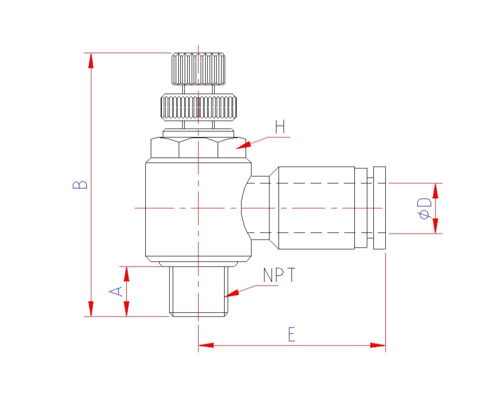 medium resolution of model cv flow control valve meter out tube push in fittings model ci flow control valve meter in tube push in fitting