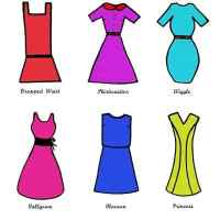 All about vintage and classic dress shapes