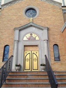 St. Demetrios Front Doors