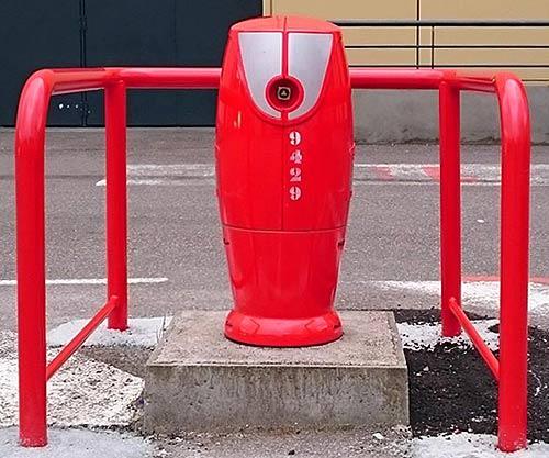 Barrière de protection pour borne incendie