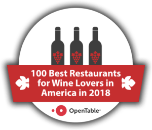 Opentable Wine Badge