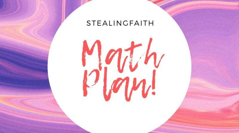 My Math Plan