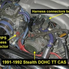 3000gt Alternator Wiring Diagram Explained 1993 Dodge Stealth | Get Free Image About