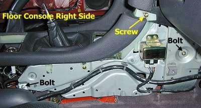 2000 Corvette Fuse Box Diagram Stealth 316 Floor Console Removal