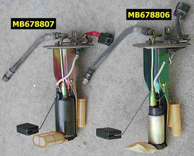 Different Electrical Wiring Stealth 316 Comparison Of Stock Fuel Pump Assemblies